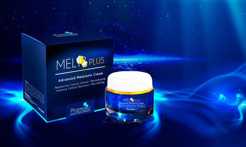 crema con melatonina mel13 plus