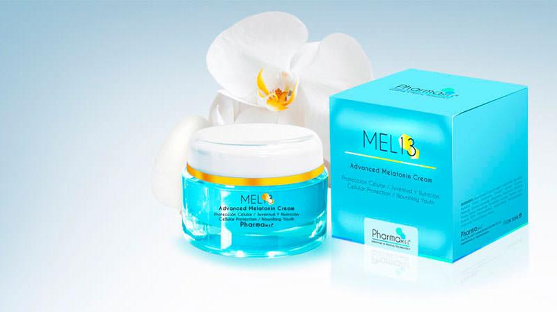 crema con melatonina mel13