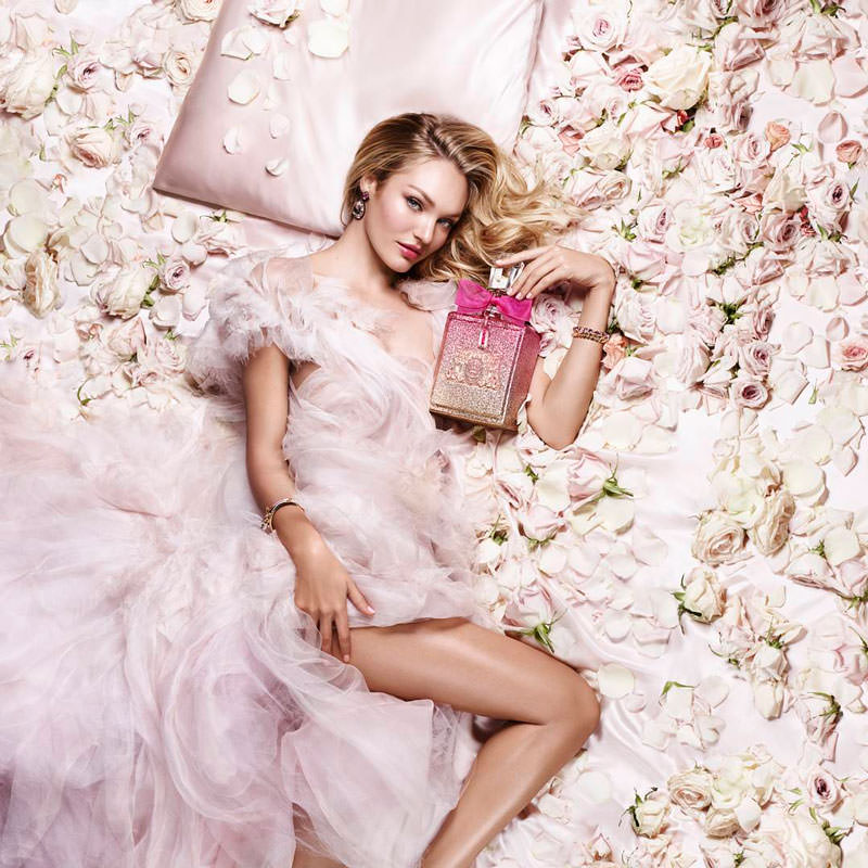 modelo perfumes de Juicy Couture