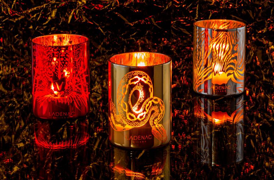 velas decorativas perfumadas Ladenac Milano