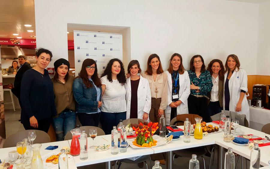 blogueras en la Clínica Santa Elena