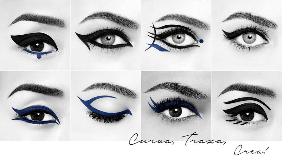 ejemplos eyeliner Lancôme