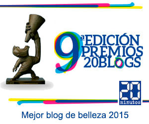 Premio 20Blogs al mejor blog de belleza 2015