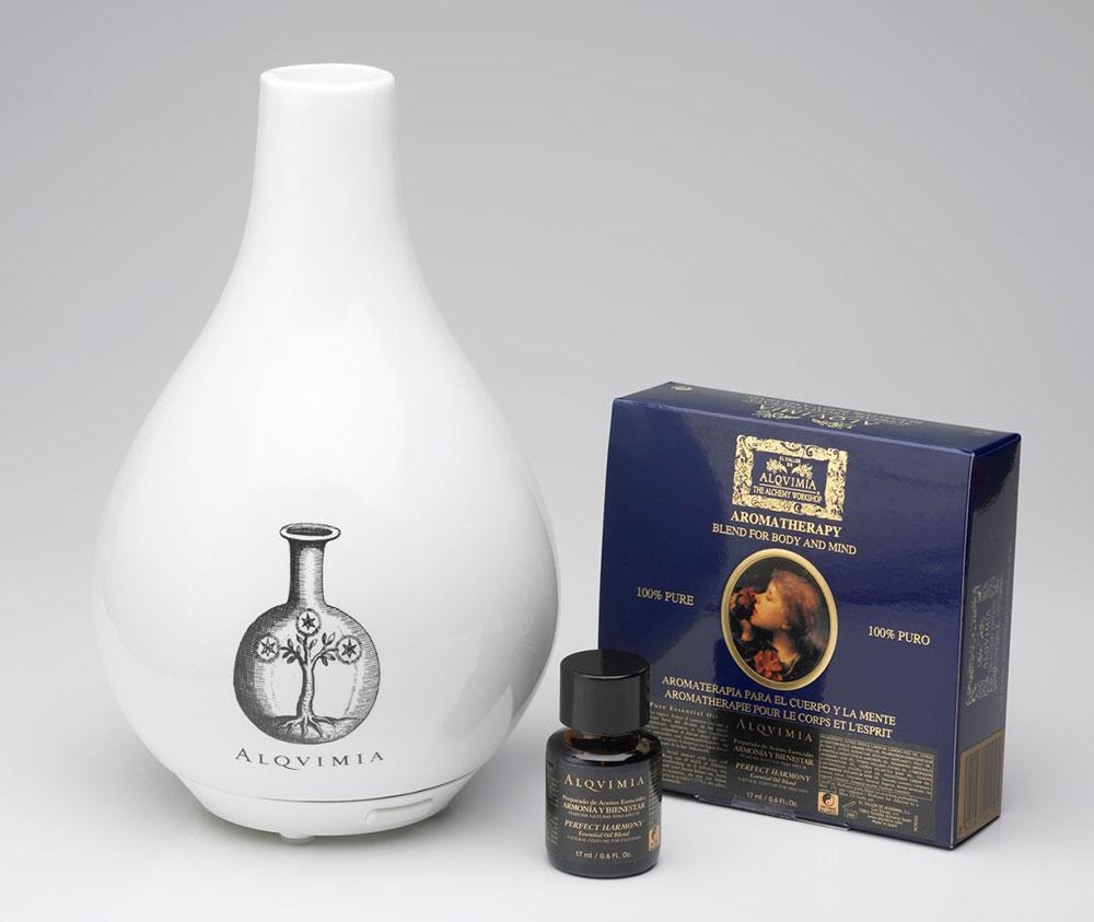Difusor Alqvimia y aceites esenciales