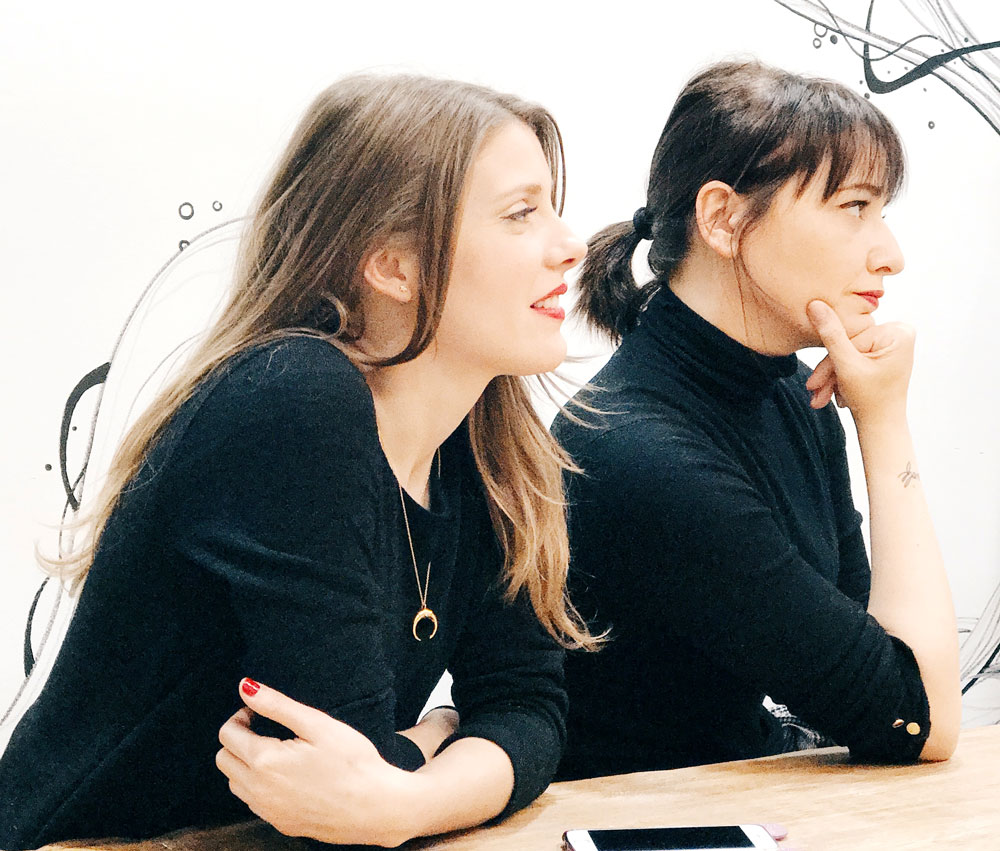 Yael  y Arantza
