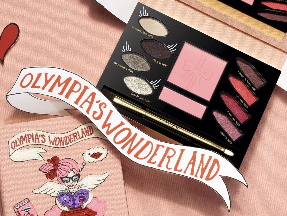 detalle paleta de maquillaje Lancôme