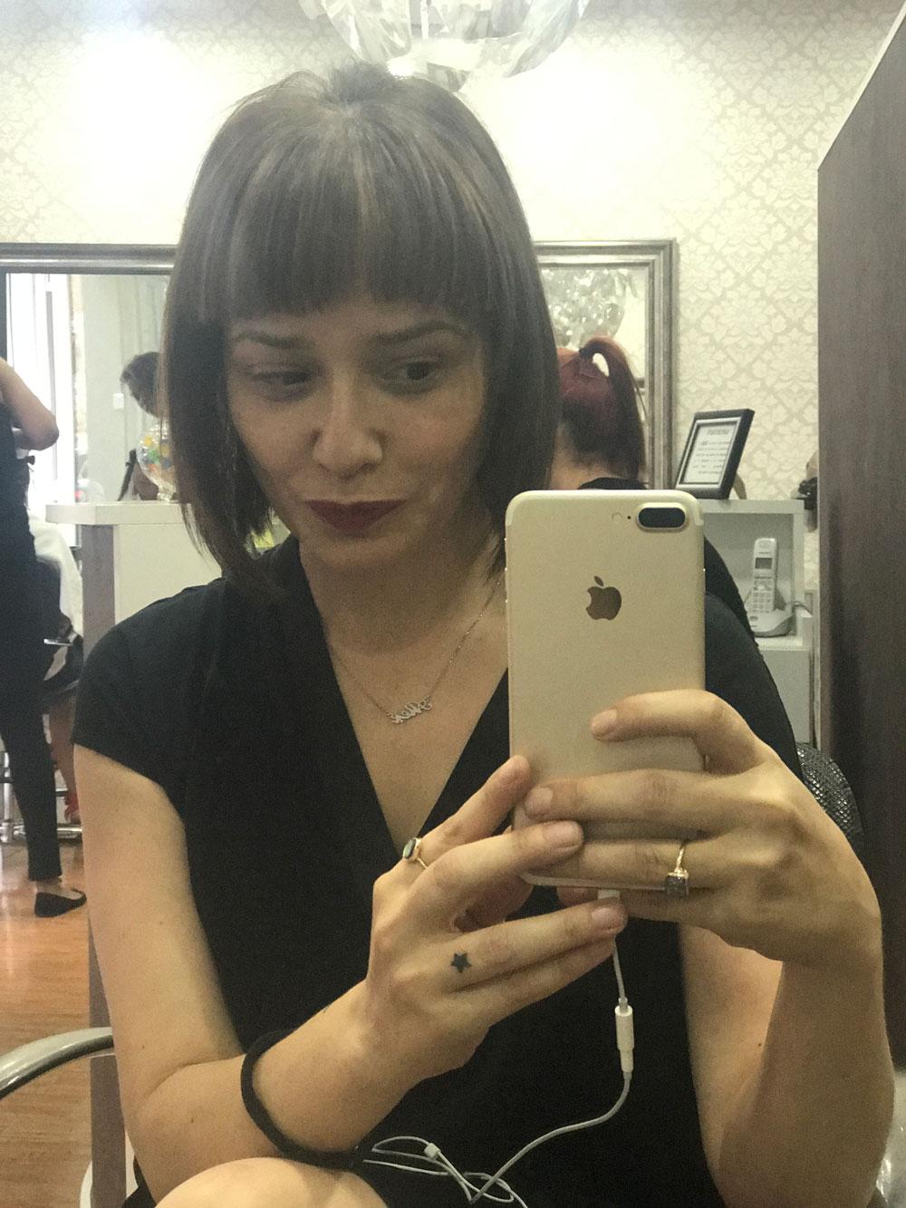Arantza en Aquarela peluquería