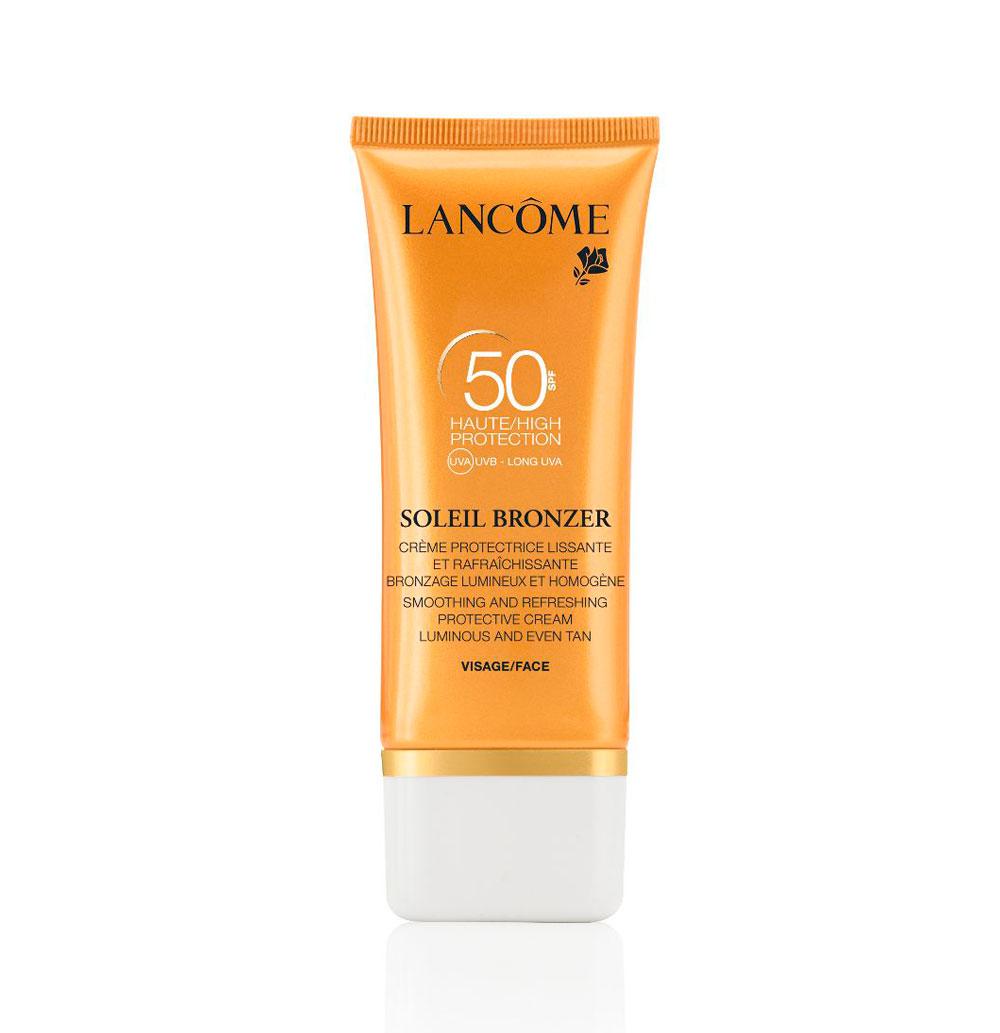 Lancôme Soleil Bronzer SPF50 rostro