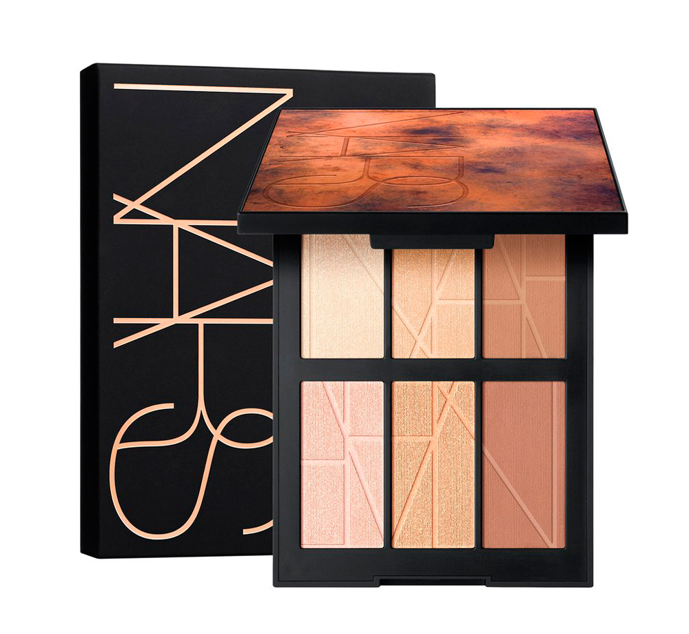 Bord de plage highlighting and bronzing palette NARS