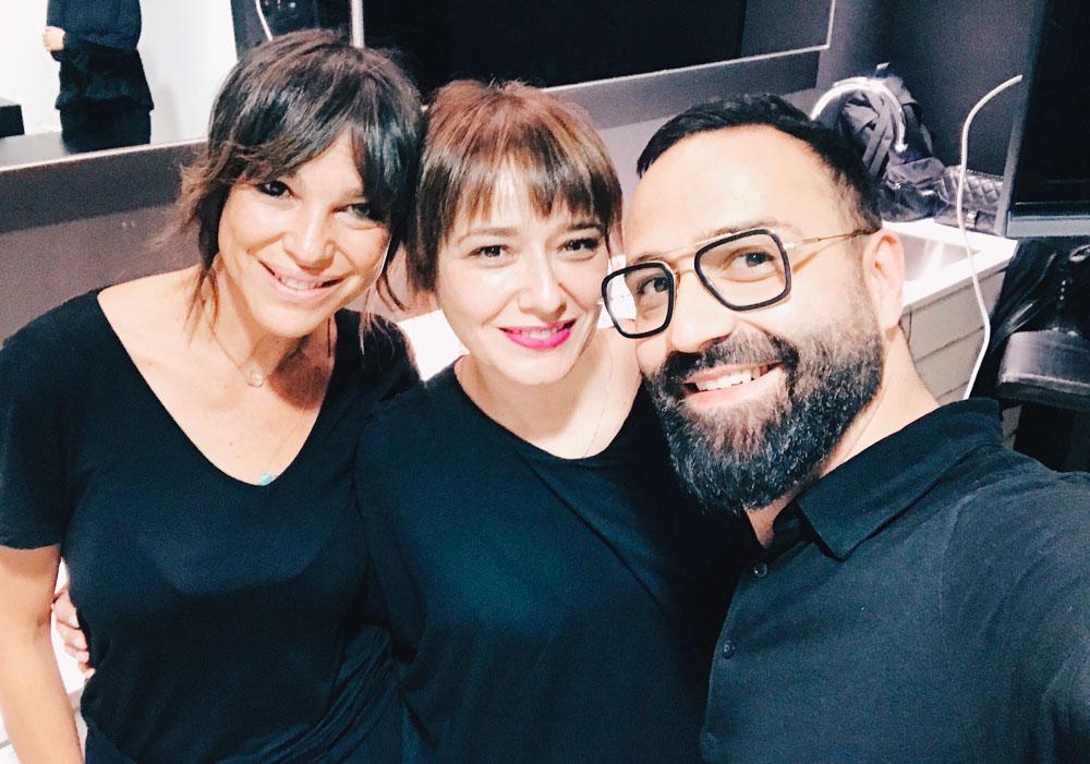 Maite Tuset, Arantza y Baltasar González Pinel
