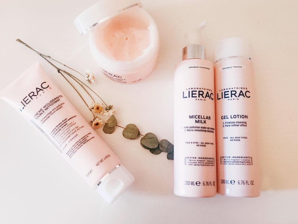 Desmaquillantes doble limpieza facial de Lierac