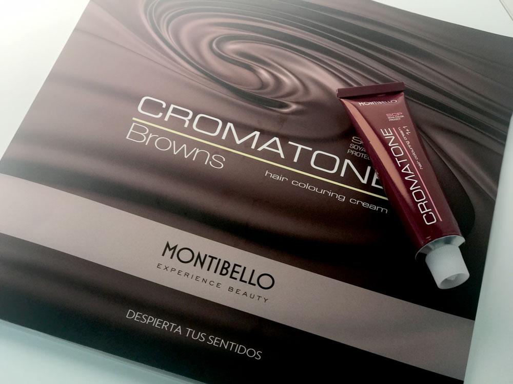 tinte marrón con Montibello