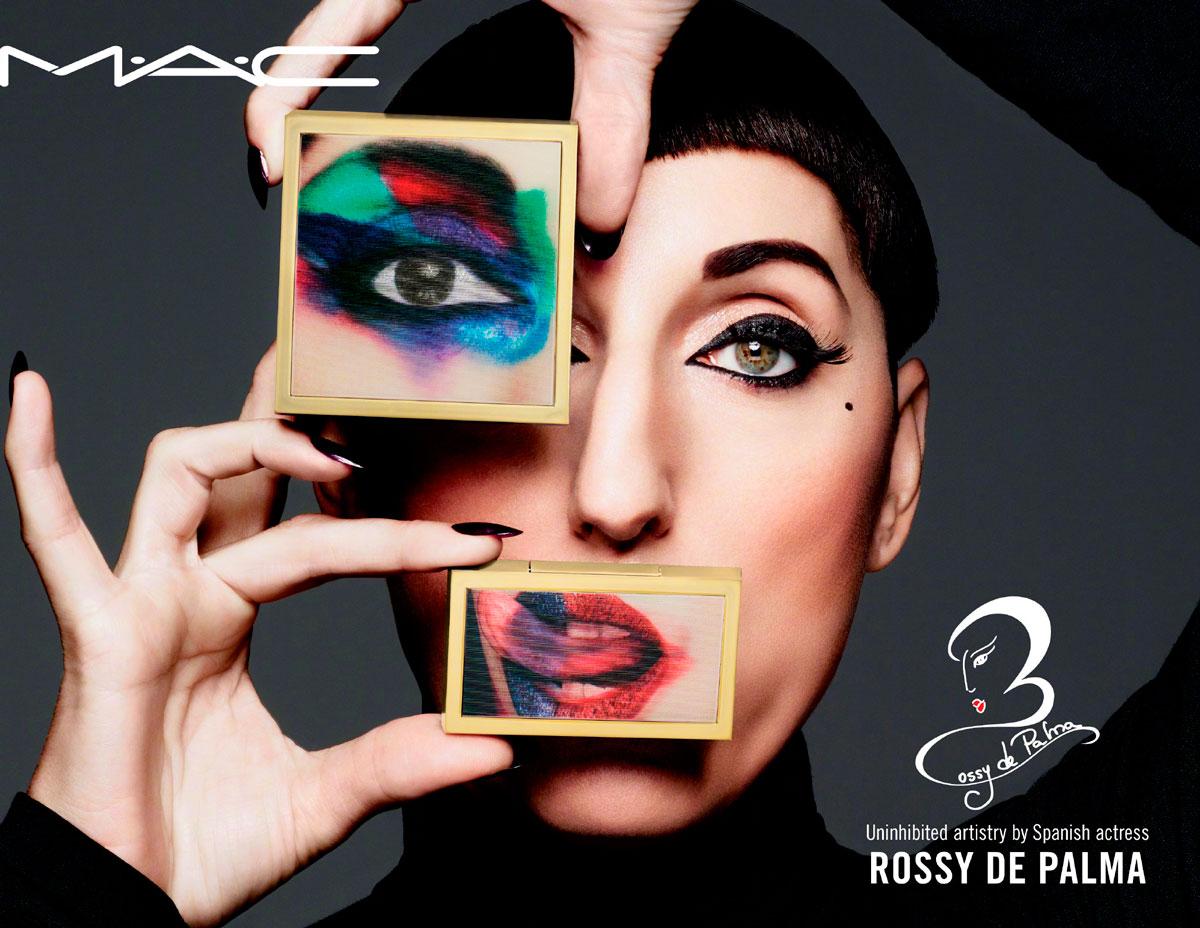 Rossy de Palma colección de maquillaje MAC