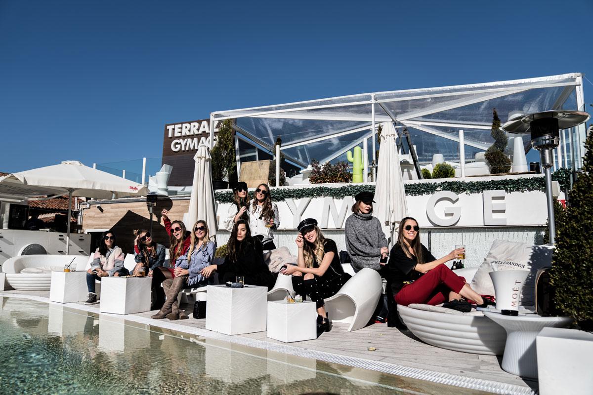 CosmetikTrip9 en Gymage terraza-grupo