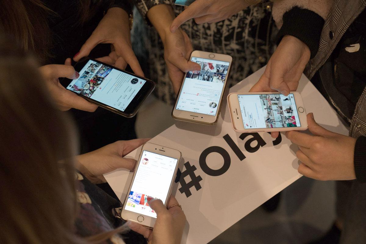 hashtag #Olay