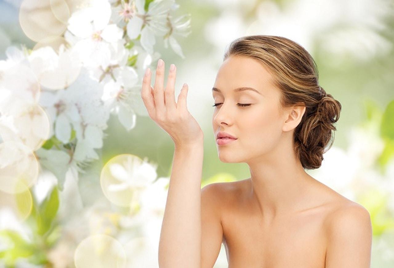 oler perfumes sobre la piel