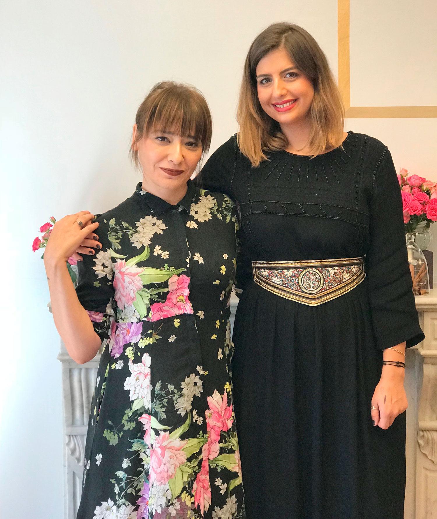 Arantza y Garance Blanches, maquilladora oficial de By Terry