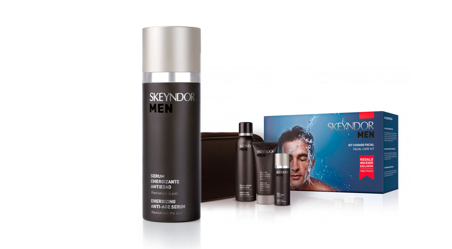 Serum Energizante Anti-edad Skeyndor Men