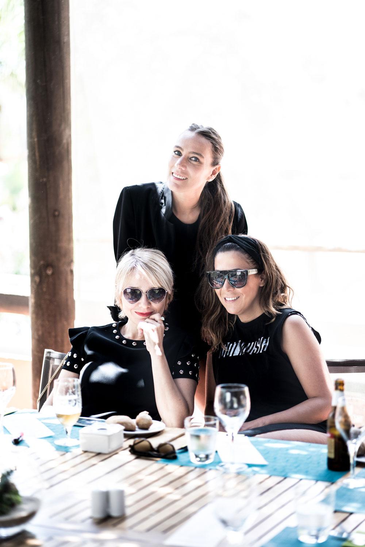 Arantza, Araceli y Raquel