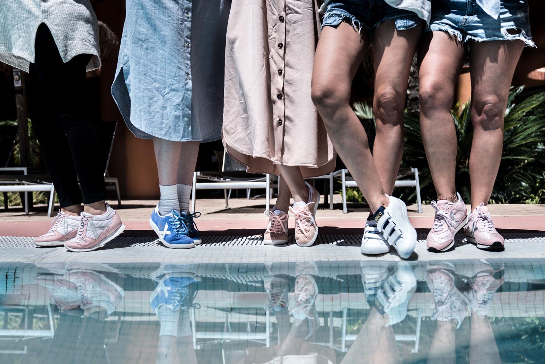 diferentes modelos zapatillas Munich