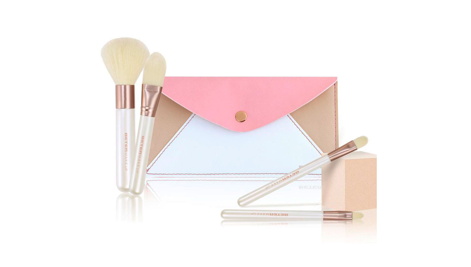Kit Mini Make up Nude Simetrics Collection