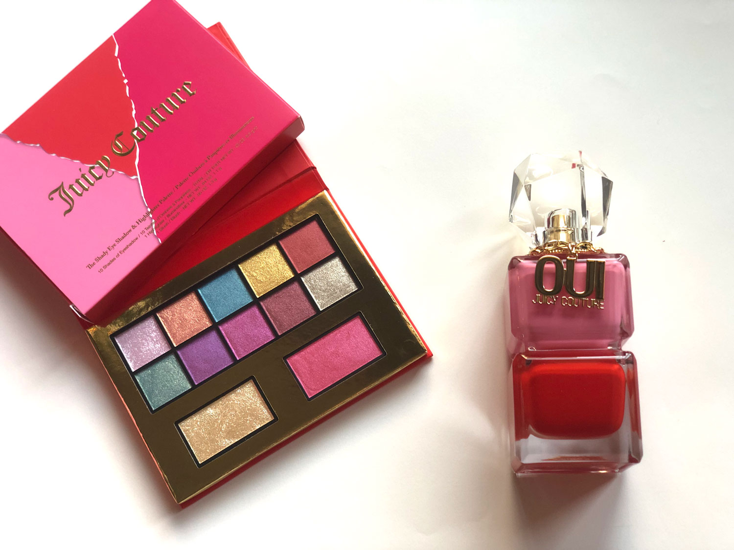 paleta y fragancia de Juicy Couture