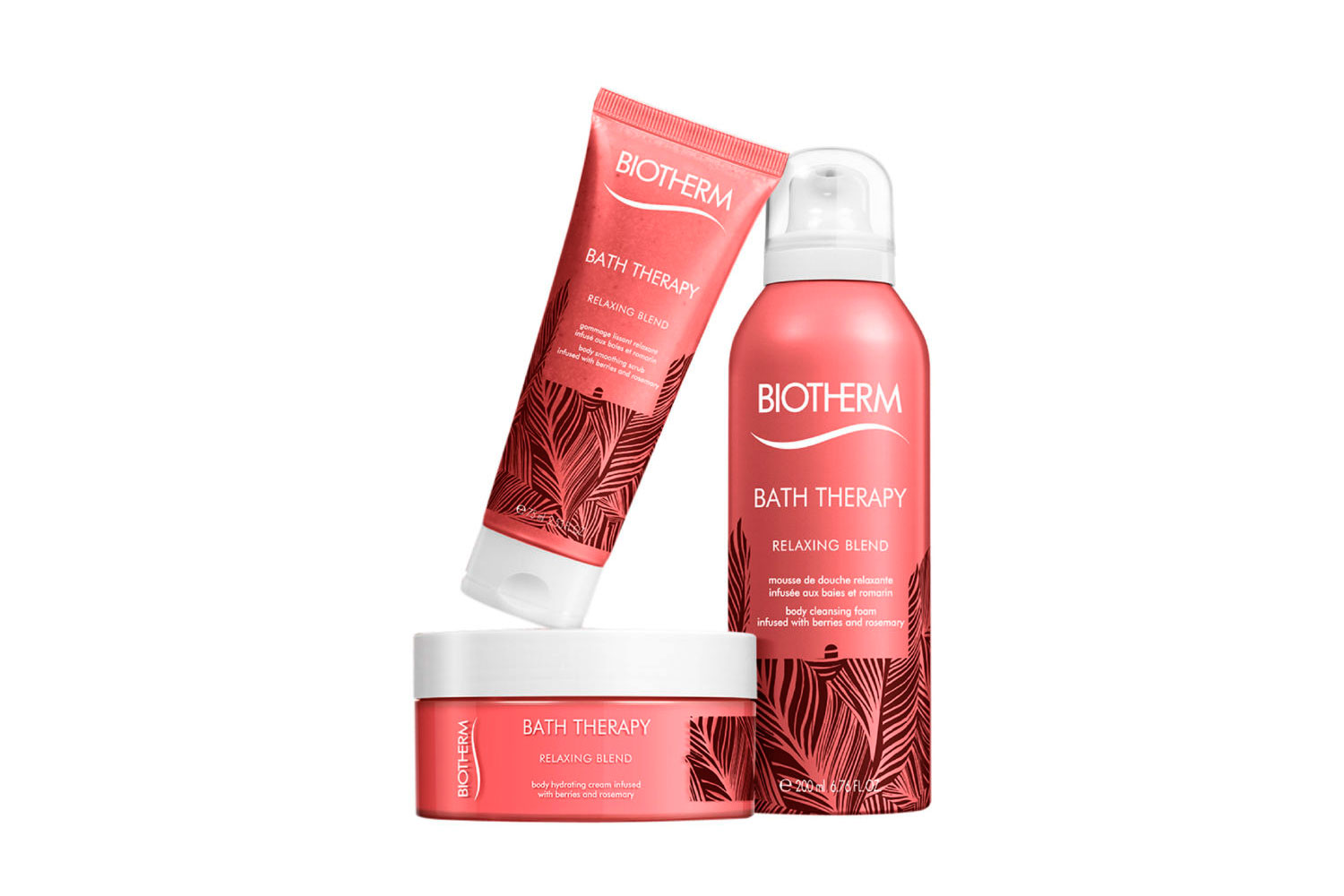 Bath Therapy de Biotherm - relaxing blend