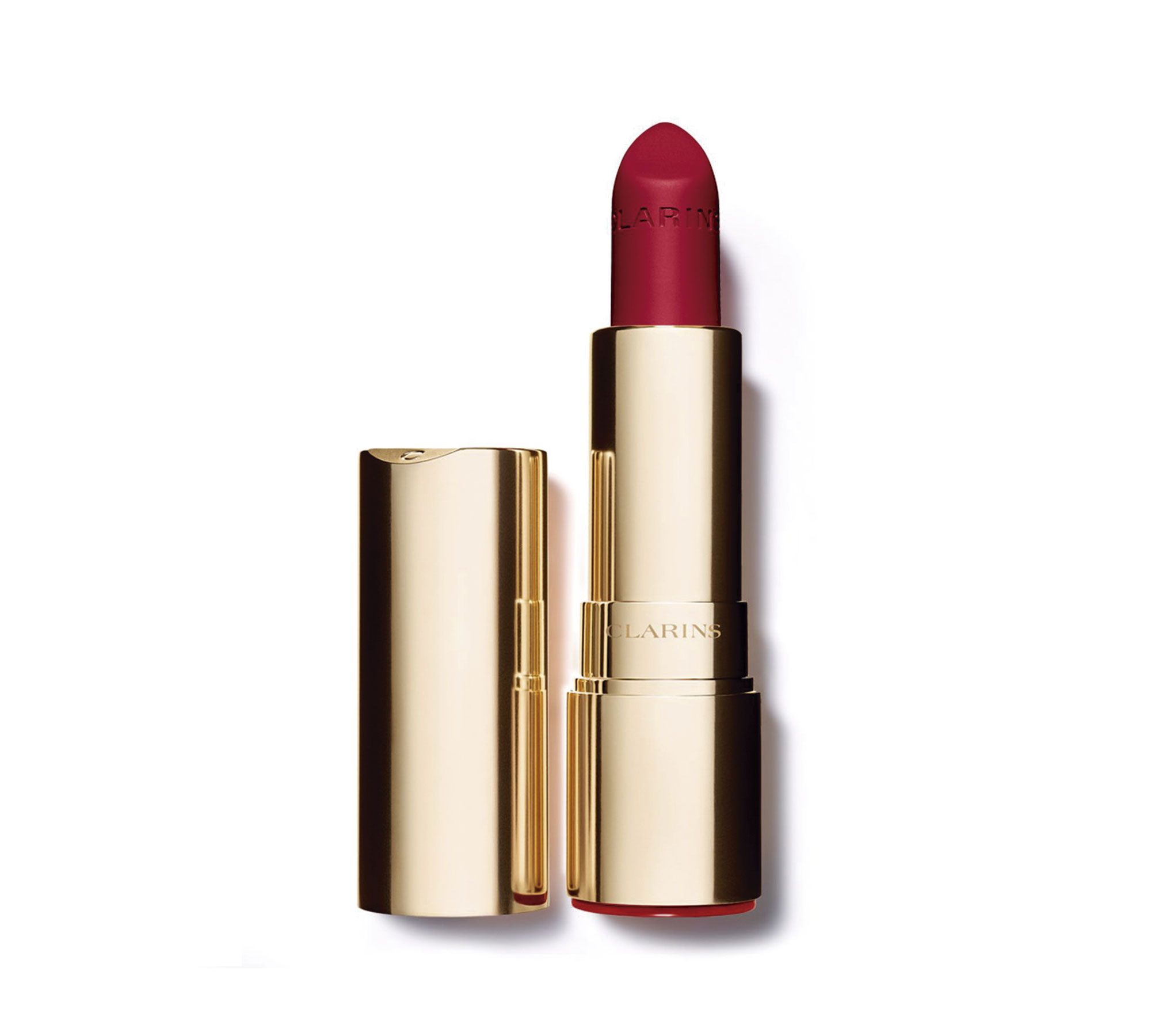 Deep red 754 Clarins Joli Rouge Lacquer