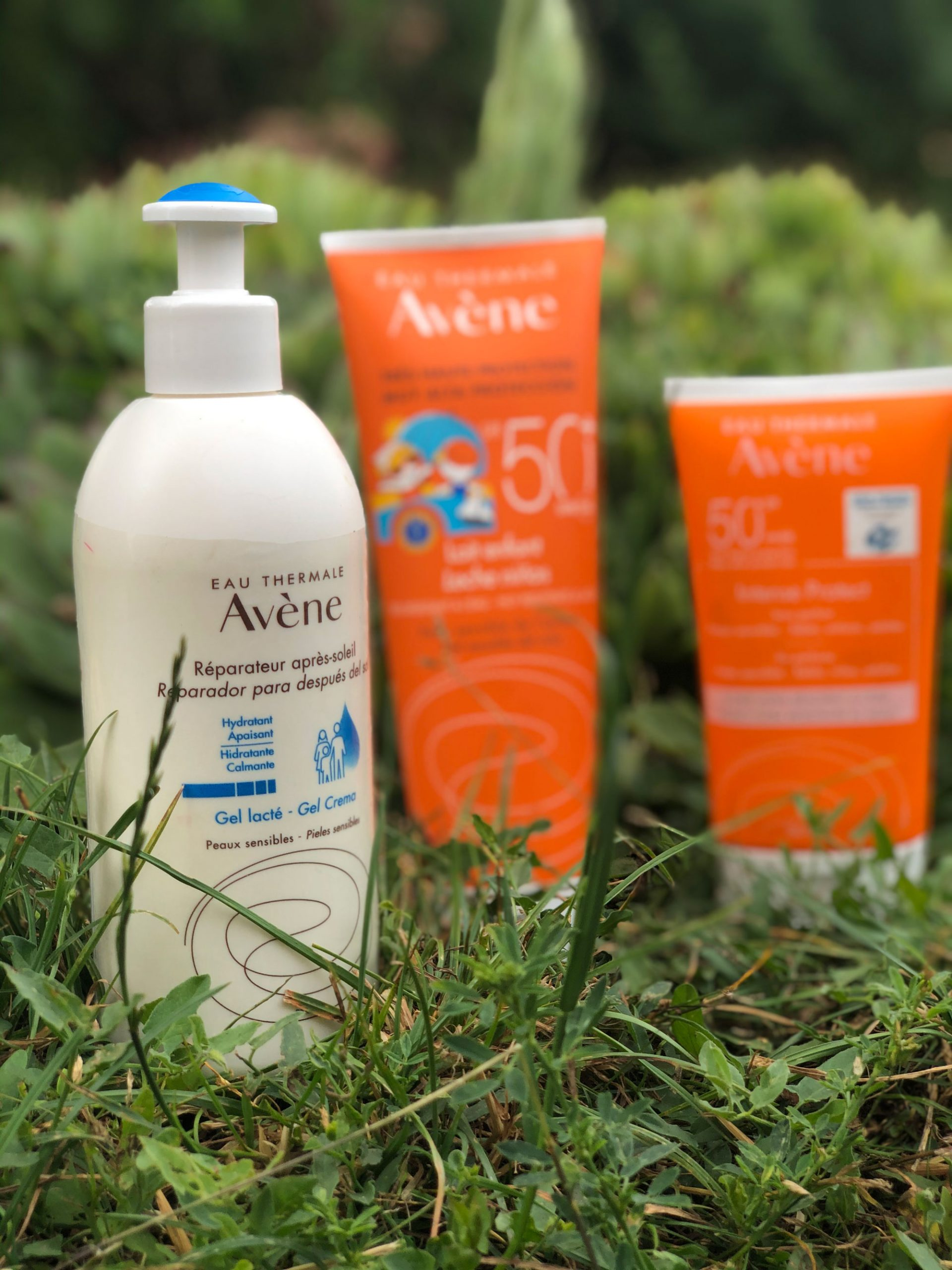 cremas solares de Avene